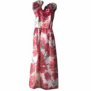 Rare Vintage Killi Hart Floral Gown